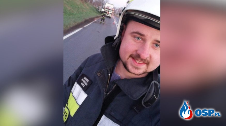 """""""Pomóżcie mi wrócić do służby"""". Strażak potrzebuje pomocy po wypadku. OSP Ochotnicza Straż Pożarna"""
