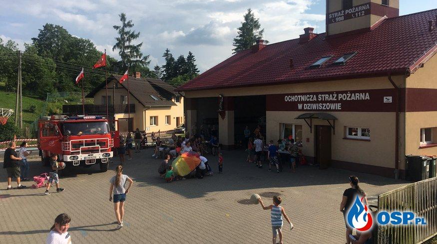 Strażacki Dzień Dziecka w Dziwiszowie OSP Ochotnicza Straż Pożarna