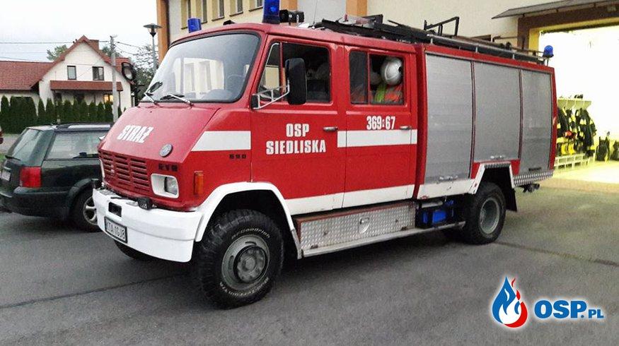Kontrola gotowości bojowej OSP Ochotnicza Straż Pożarna