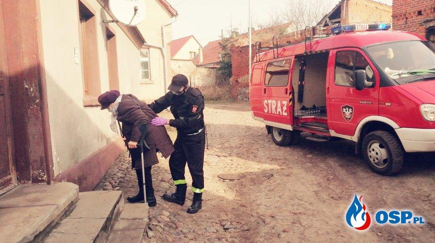 SZCZEPIENIE OSP Ochotnicza Straż Pożarna