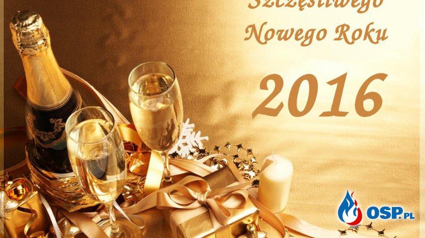 Szczęśliwego Nowego Roku!!! OSP Ochotnicza Straż Pożarna