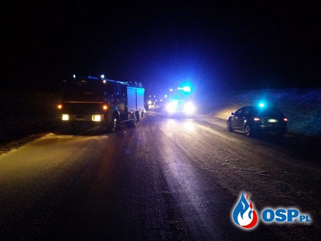 Wypadek na obwodnicy Białej OSP Ochotnicza Straż Pożarna