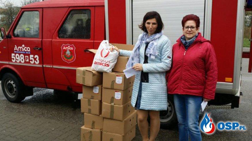 Świąteczna paczka dla dzieci OSP Ochotnicza Straż Pożarna