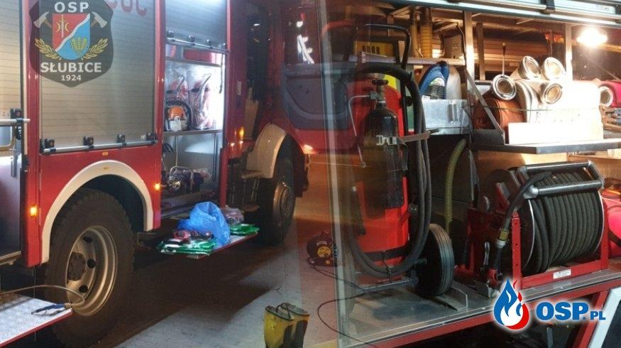 Dzień gospodarczy – sprzęt sprawdzony i przygotowany do działań OSP Ochotnicza Straż Pożarna