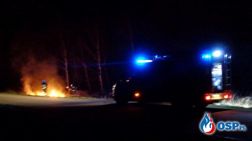Pożar traw przy ul. Konopnickiej OSP Ochotnicza Straż Pożarna
