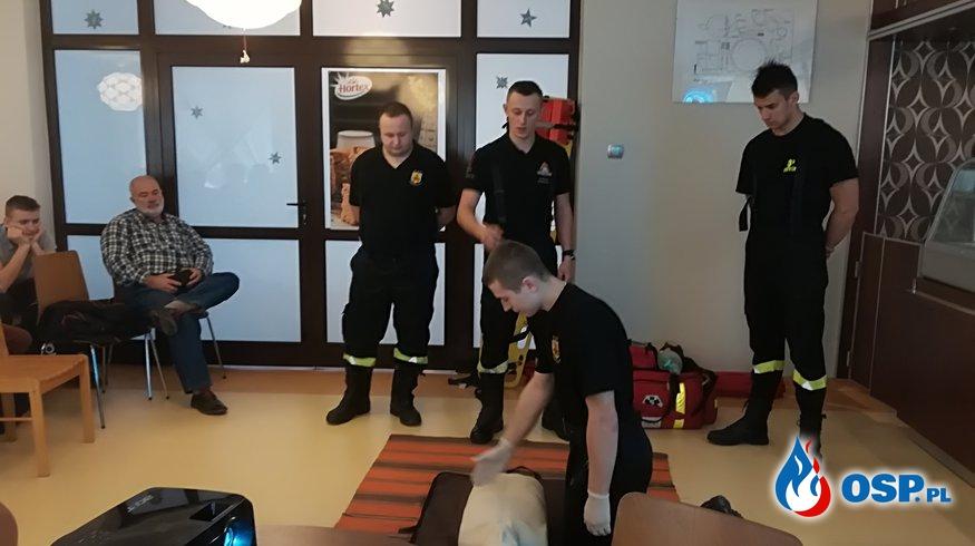 Szkolenie dla uczniów w Zespole Szkół nr 2 w Przysusze OSP Ochotnicza Straż Pożarna