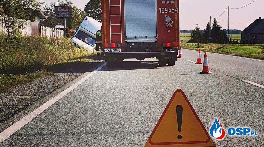 Utrudnienia na DK nr 11 w Słupi pod Kępnem OSP Ochotnicza Straż Pożarna