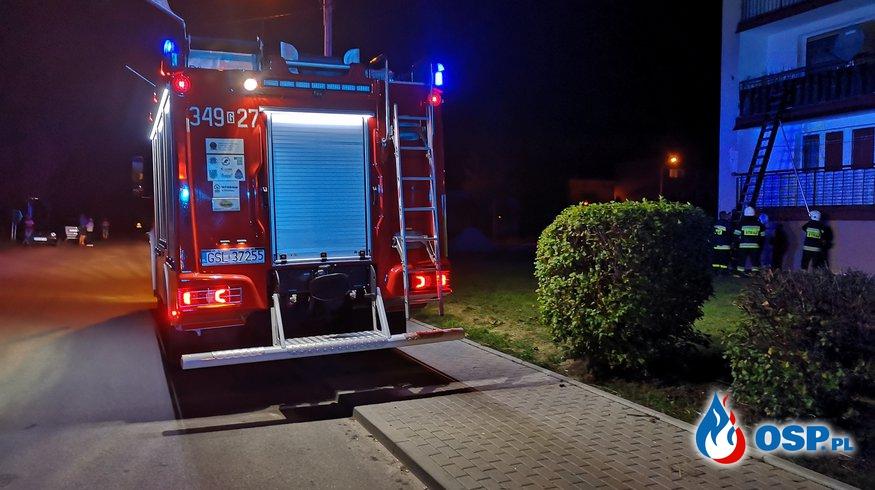Szerszenie i otwarcie mieszkania - Kępice 05-09-2018 OSP Ochotnicza Straż Pożarna