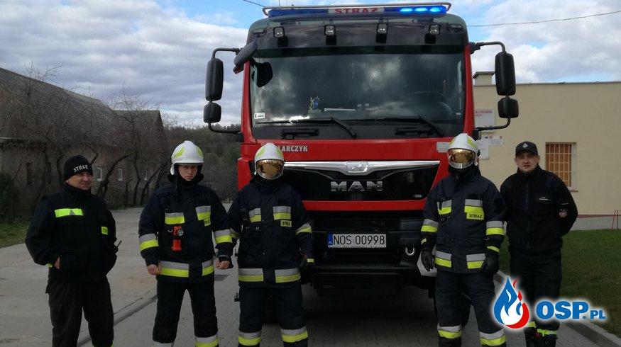 Ćwiczenia 22.04.2017 OSP Ochotnicza Straż Pożarna