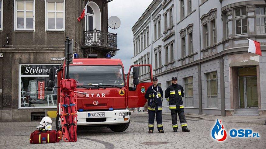 Zabezpieczenie wizyty Prezydenta RP Andrzeja Dudy OSP Ochotnicza Straż Pożarna