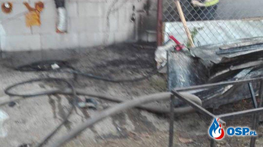 Pożar w Bytnicy OSP Ochotnicza Straż Pożarna