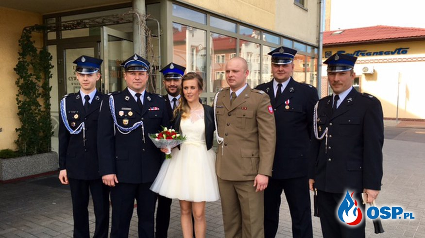 Ślub OSP Ochotnicza Straż Pożarna