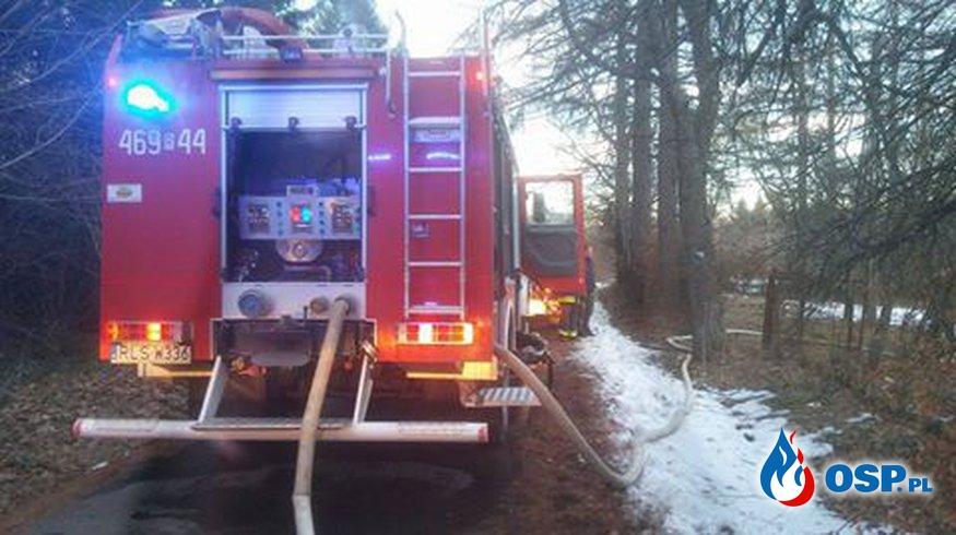 Pożar w Sakowczyku OSP Ochotnicza Straż Pożarna