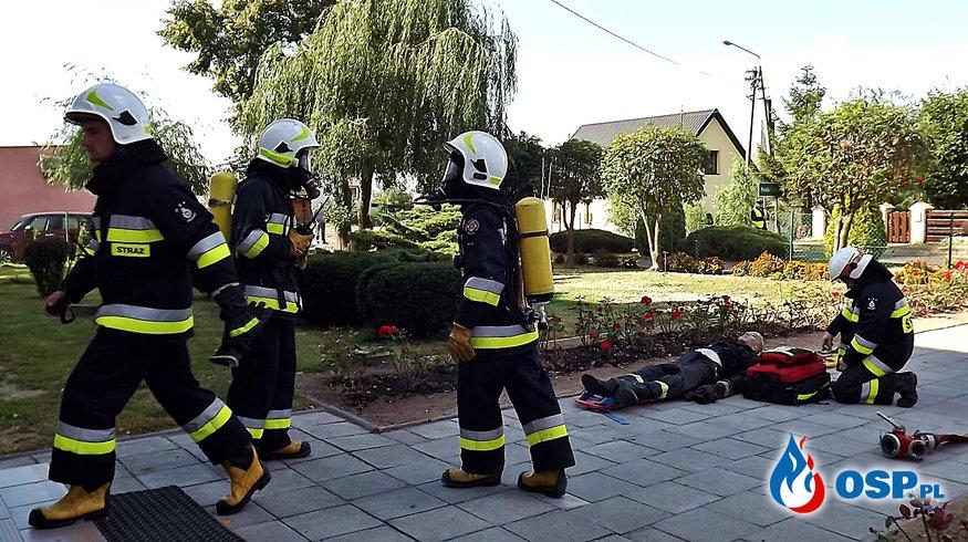 Pożar kotłowni w Szkole Podstawowej w Bielsku OSP Ochotnicza Straż Pożarna