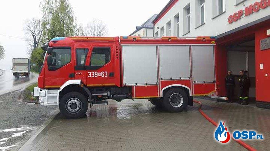 Nowy Samochód OSP Mogilany OSP Ochotnicza Straż Pożarna