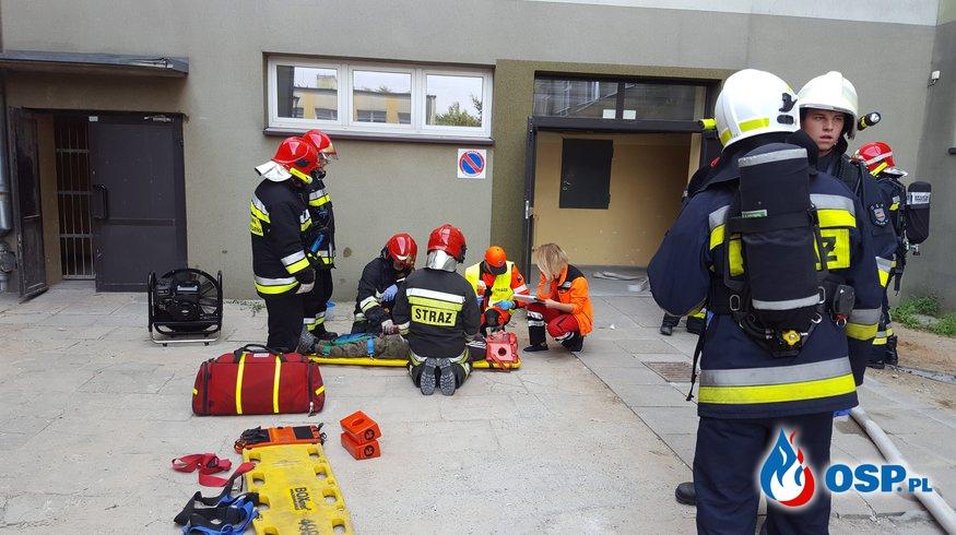 Ćwiczenia VII Kompanii Gaśniczej Województwa Opolskiego OSP Ochotnicza Straż Pożarna