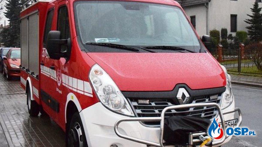 Nowy samochód Ratowniczo-gaśniczy OSP Ochotnicza Straż Pożarna