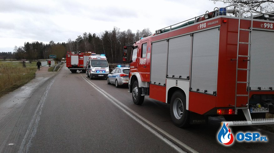 Wypadek w Szafrankach - OSP Lipniki OSP Ochotnicza Straż Pożarna