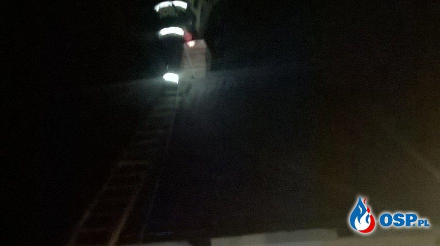Pożar sadzy w przewodzie kominowym OSP Ochotnicza Straż Pożarna