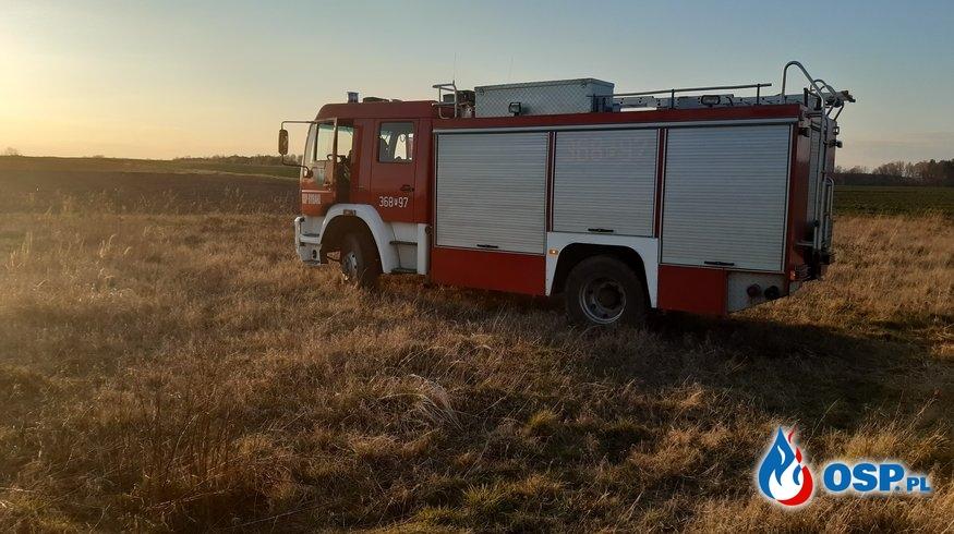 Znowu trawy... OSP Ochotnicza Straż Pożarna