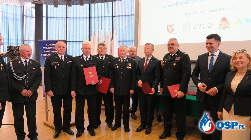 38 nowych wozów dla jednostek OSP z Małopolski. Do kogo trafią? OSP Ochotnicza Straż Pożarna