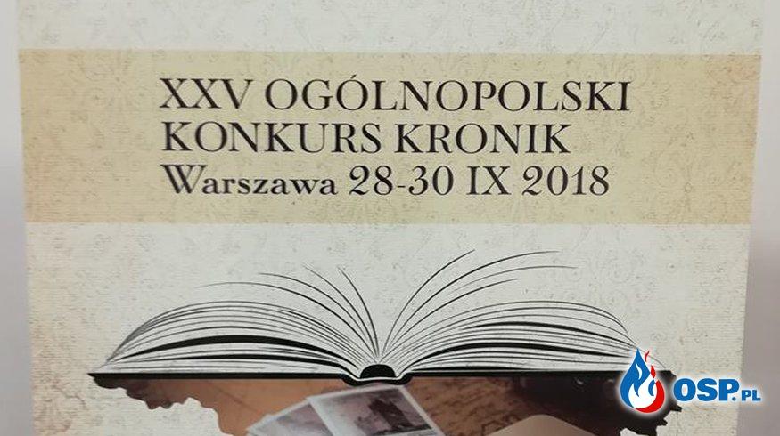 XXV Ogólnopolski Konkurs Kronik OSP Ochotnicza Straż Pożarna