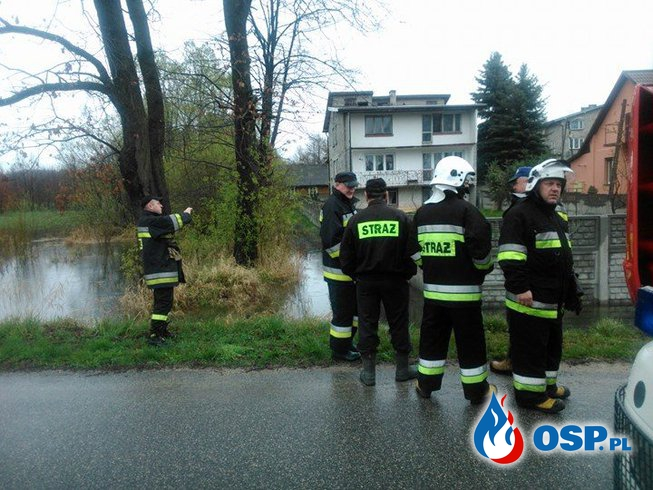 Zdarzenie nr 37 - Zalana posesja - 27.04.17 - Bliżyn OSP Ochotnicza Straż Pożarna