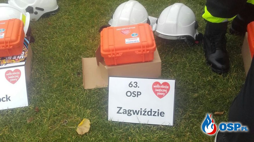Fundacja przekazuje AED OSP Ochotnicza Straż Pożarna