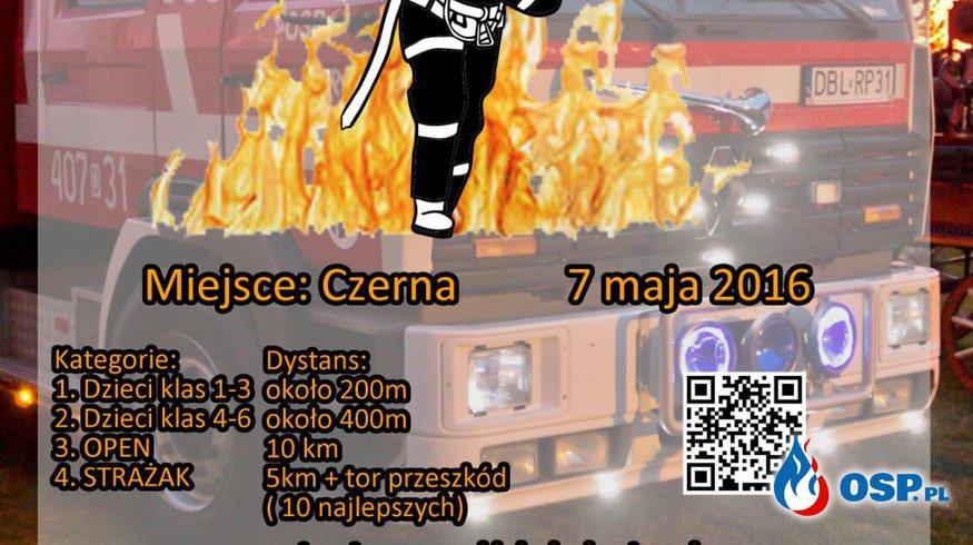 II Międzynarodowy Bieg Strażaka Czerna 2016 OSP Ochotnicza Straż Pożarna