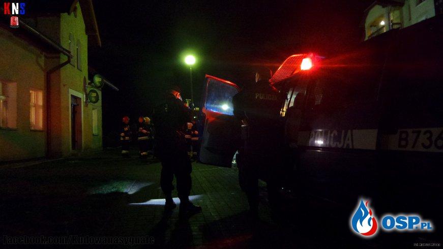 Wybuch i ulatniający się gaz w Kudowie-Zdrój. OSP Ochotnicza Straż Pożarna