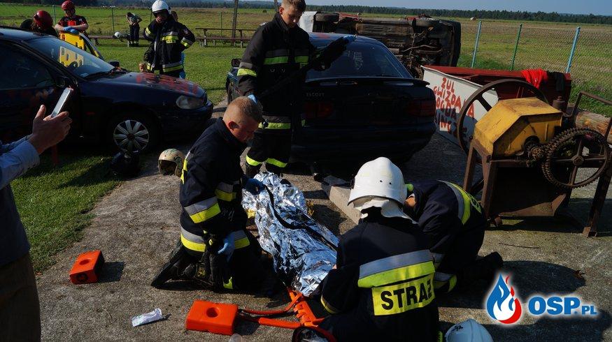 Ćwiczenia MDP z SAR Szczecinek. OSP Ochotnicza Straż Pożarna