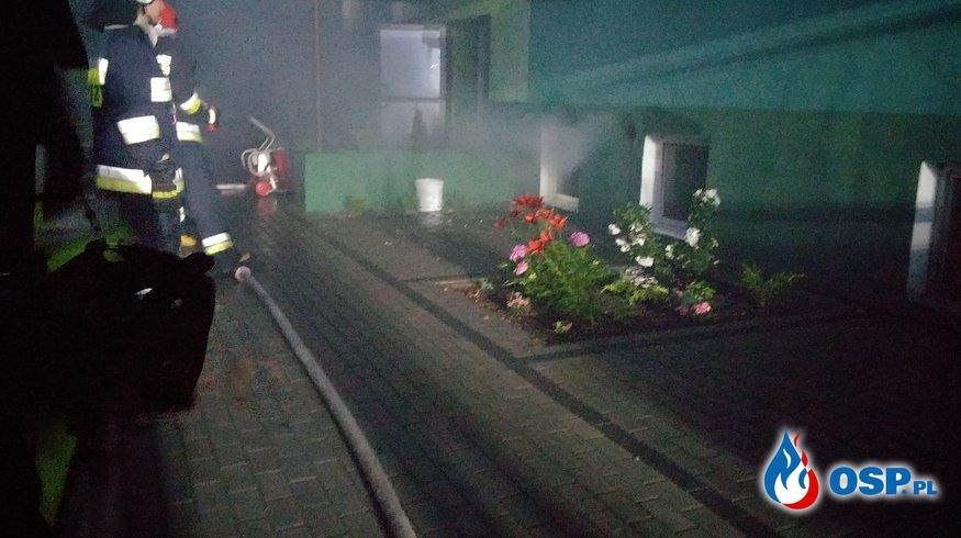 Pożar piwnic w blokach mieszkalnych 02.07.2017 OSP Ochotnicza Straż Pożarna