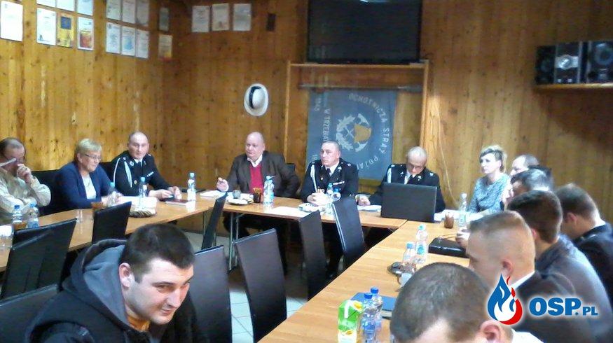 Zebranie sprawozdawczo - wyborcze OSP Ochotnicza Straż Pożarna