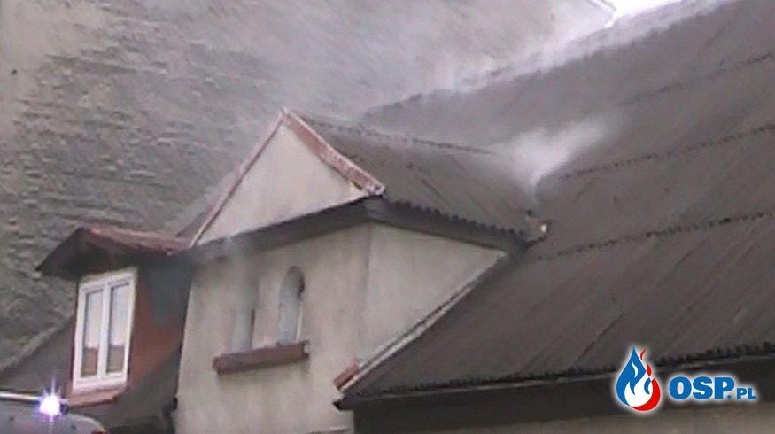 Pożar budynku mieszkalnego - Wronki. OSP Ochotnicza Straż Pożarna