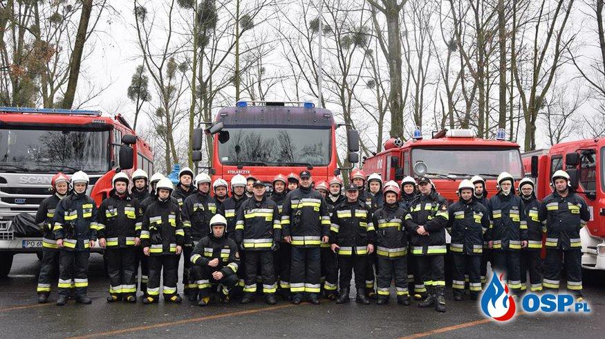 Ćwiczenia z organizacji zaopatrzenia wodnego dla jednostek powiatu średzkiego OSP Ochotnicza Straż Pożarna