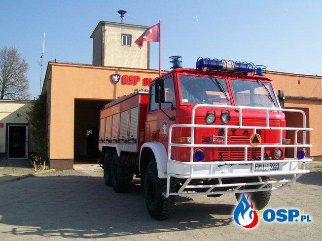 Zadymienie OSP Ochotnicza Straż Pożarna
