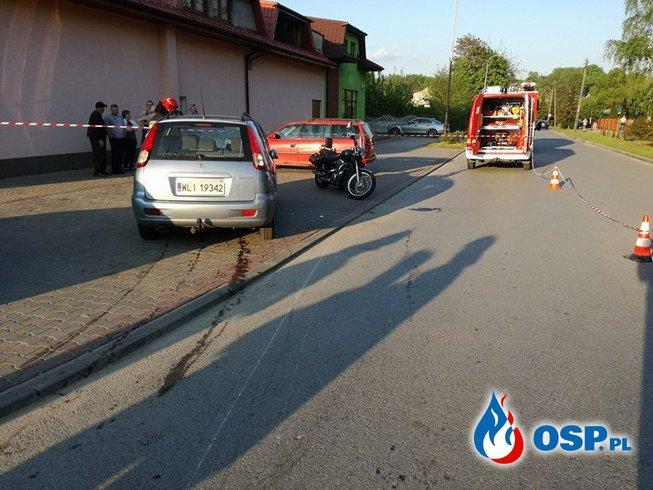 Zdarzenia 54 - 55 - próba samobójcza, kolizja OSP Ochotnicza Straż Pożarna