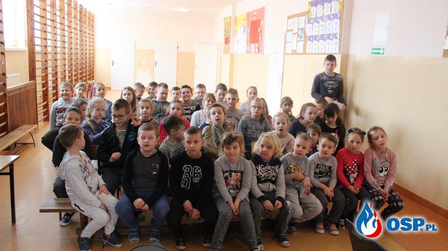 Wizyta w Szkole Podstawowej w Cyganach 2019 OSP Ochotnicza Straż Pożarna