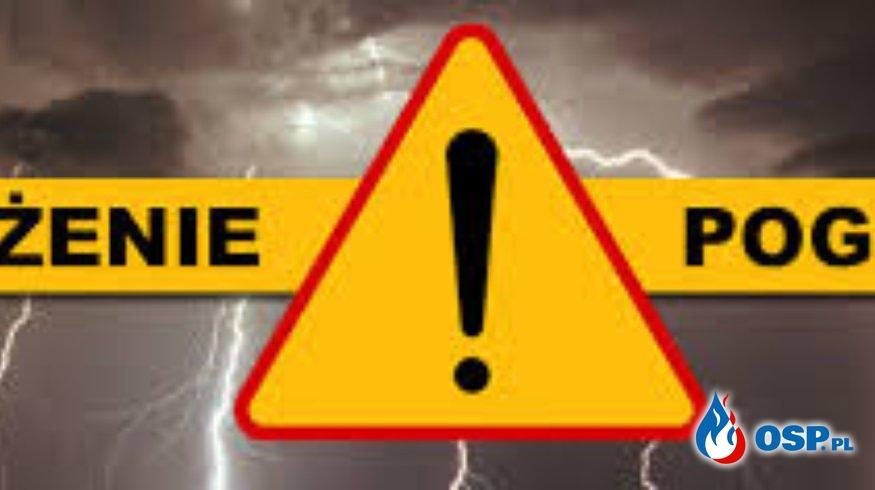 Ostrzeżenie OSP Ochotnicza Straż Pożarna