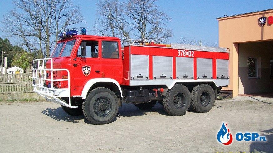 Pożar komina OSP Ochotnicza Straż Pożarna
