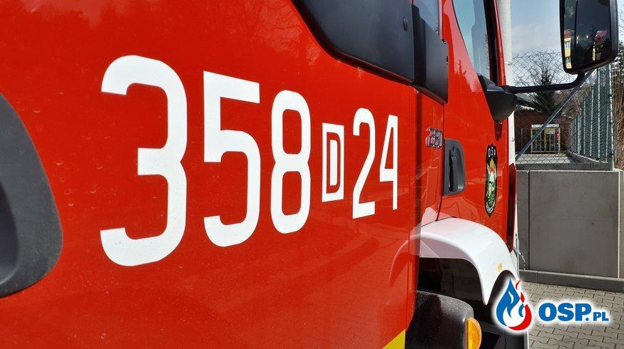 ALARM! 21/2020 OSP Ochotnicza Straż Pożarna