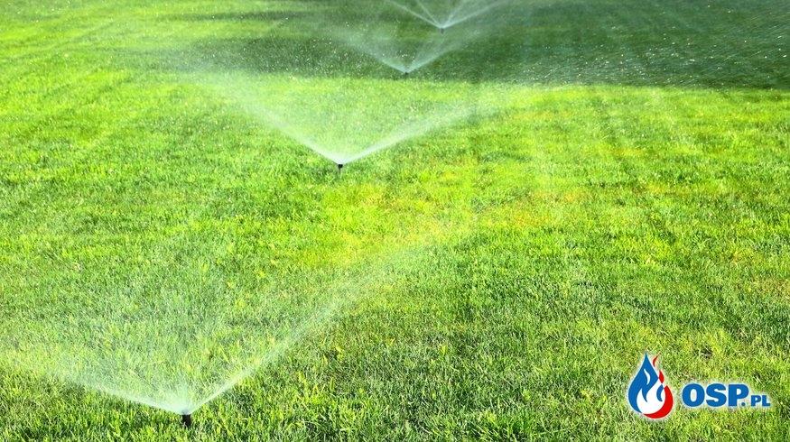 Apel – oszczędzajmy wodę! OSP Ochotnicza Straż Pożarna