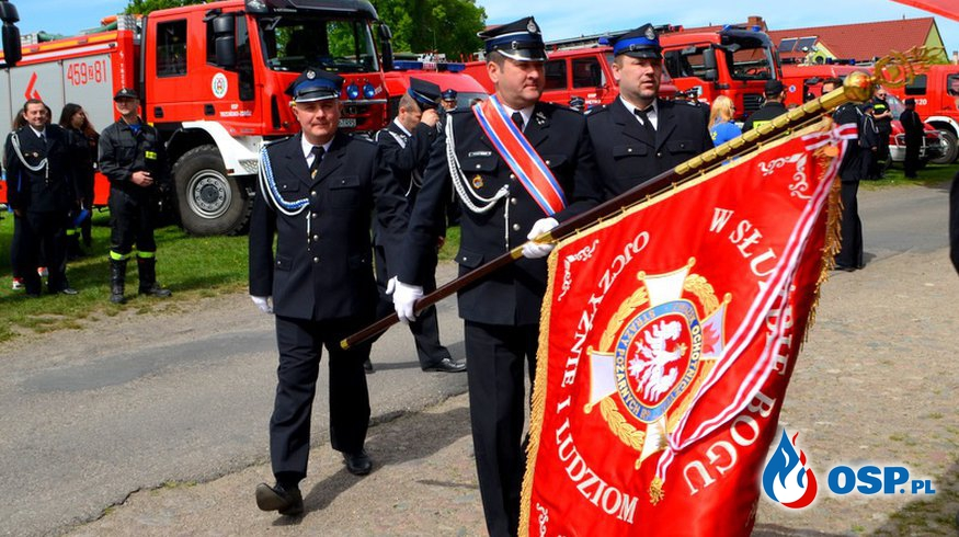 Międzygminne uroczystości z okazji Dnia Strażaka w Chojnie. OSP Ochotnicza Straż Pożarna