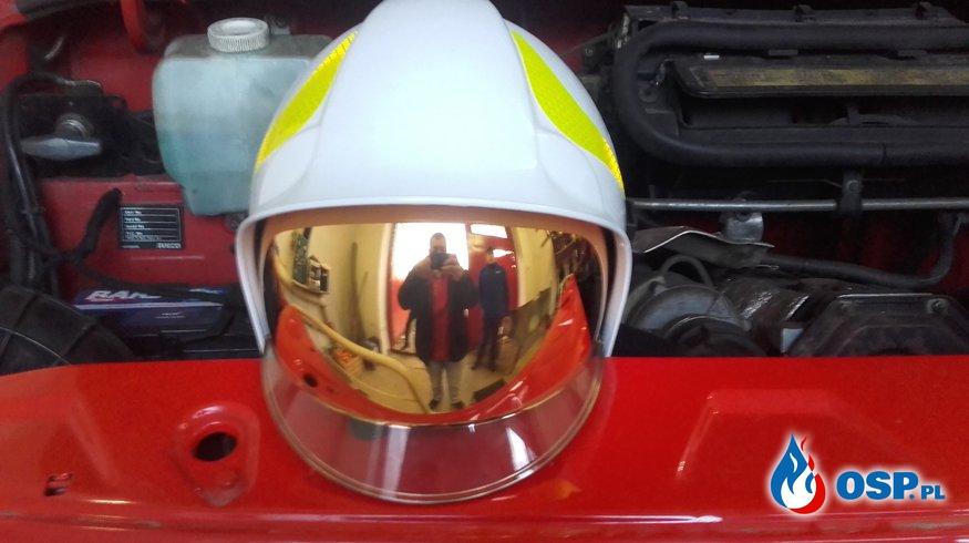 Ochrona osobista naszych Strażaków ROŚNIE!!! OSP Ochotnicza Straż Pożarna