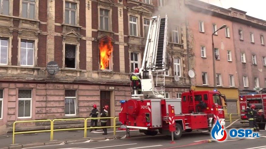 Pożar mieszkania w Jeleniej Górze! OSP Ochotnicza Straż Pożarna