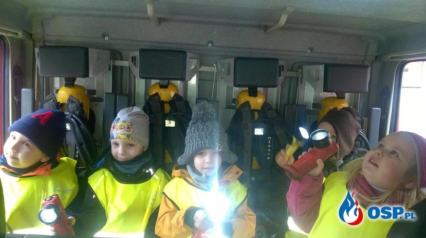 Wizyta przedszkolaków w naszej jednostce OSP Ochotnicza Straż Pożarna