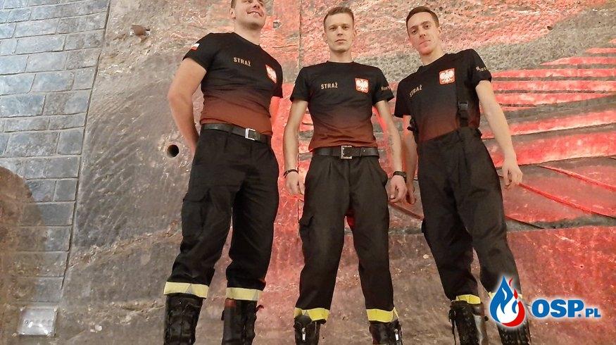 Strażacka trójka ze wspaniałym sukcesem OSP Ochotnicza Straż Pożarna