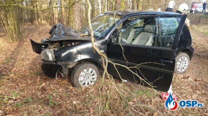 Kłodzisko – wypadek drogowy OSP Ochotnicza Straż Pożarna