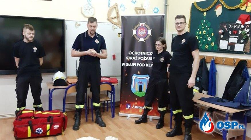 Dbamy o Twoje bezpieczeństwo - akcja słupskich strażaków OSP Ochotnicza Straż Pożarna