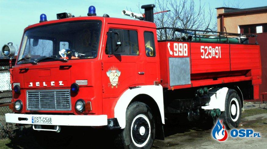 Pożar samochodu osobowego A1 OSP Ochotnicza Straż Pożarna